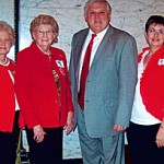 """Calhoun Republican Women attend """"Red Jacket Day"""" at Capitol in Jackson"""