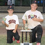 Lee, Walker lead Red Sox to title in Tupelo tournament