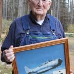 Thurman Massey recalls time as a gunner in a Douglas SBD during World War II