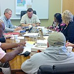 Supervisors look at State Aid money; discuss need for representatives of drainage districts