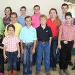 Calhoun kids earn success in Goat Show at County Fair