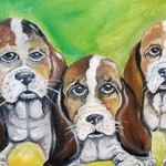 Tammy Jackson's love for art and animals fuels her creativity