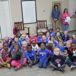 Bruce kindergartners visit The Journal