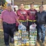 MSU ROTC donates to Calhoun food pantry