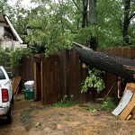 Storms cause damage around county