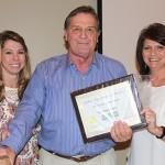 Calhoun City Chamber honors Ball Building Supply