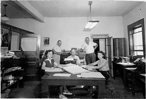 1952 Chancery Clerk office