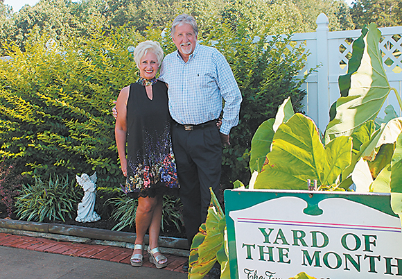 Yard of the Month norwood