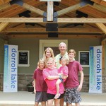 Charlotte and Ethan Nanney come home to Dorroh Lake