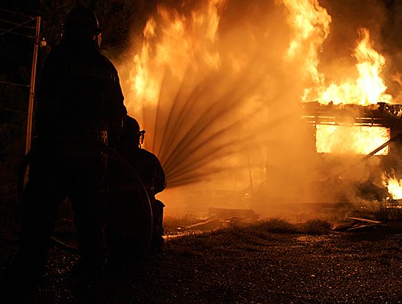 hughes fire