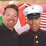 Proud of my U.S. Marine Charlie Solis