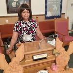 Martha Williams leads True Vine Church of God in Bruce