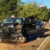 Five injured in wreck
