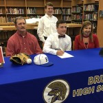 Spratlin signs baseball scholarship with Northwest