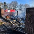 Two homes lost to fire over New Year's
