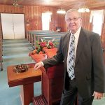 Franklin Dunn in his fifth year as pastor of historic Pleasant Grove Baptist Church