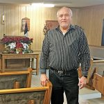 Halderman shares love for the Lord, Sherman Baptist Church