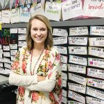Brianna Caradine strives to make classroom fun, engaging