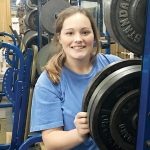Camryn Harris looks to lead Bruce powerlifters back to state