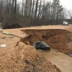 Roads closed around Bruce due to flooding