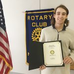 Stewart earns Rotary honor