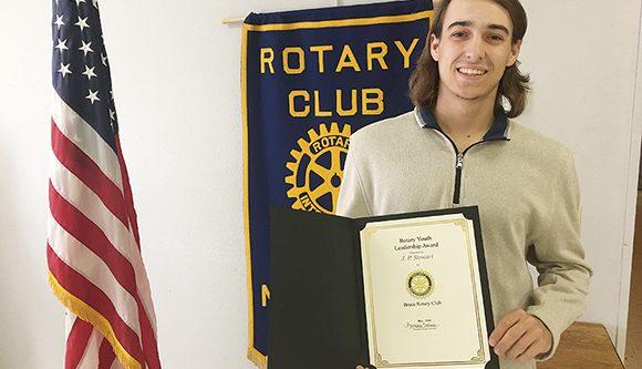 Stewart earns Rotary honor