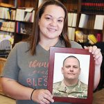 Kayla Wesley is experienced on both sides of military deployment