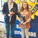 Austin, May attend Rotary Conference