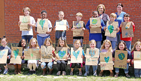 BES students celebrate Earth Day
