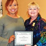 Edwards earns Juniorette of the Year