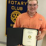 Lee earns Bruce Rotary Youth Leader honor