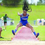 Williams, Justice earn first at state track meet