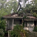 Tuesday storm causes damage around Bruce