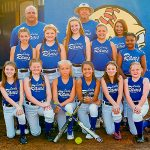 Vardaman Lady Rams summer league team