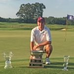 Clarke pulls away to win Trustmark Invitational by four strokes