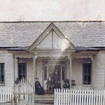 Memories of the Harrelson House in town of Pittsboro