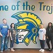 Bruce High Commons gets new paint job