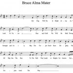 Alma Mater developed as Bruce Band builds tradition