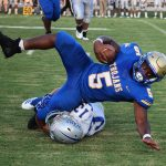 Bruce rushes to win over Vardaman in penalty-fest