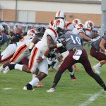 Mistakes, cramping costly as Calhoun City falls to Houston