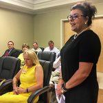 Dr. Langford and new Northwest president speak to supervisors