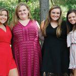 Calhoun Academy Senior Homecoming Maids
