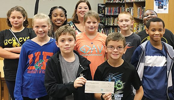CCHS Library gets literacy grant