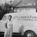 Ellard's Flower Shop was first in county, opening 1941