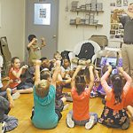 Young leads music education at BES, BUES