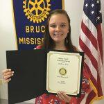 May earns Rotary honor