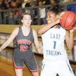 Lady Trojans earn win over Charleston