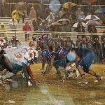 Scott Central eliminates Calhoun City in rain-soaked North half Title Game