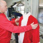 Getting Santa ready