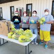 Anonymous Hope, Saving Paws team up to give away vegetables